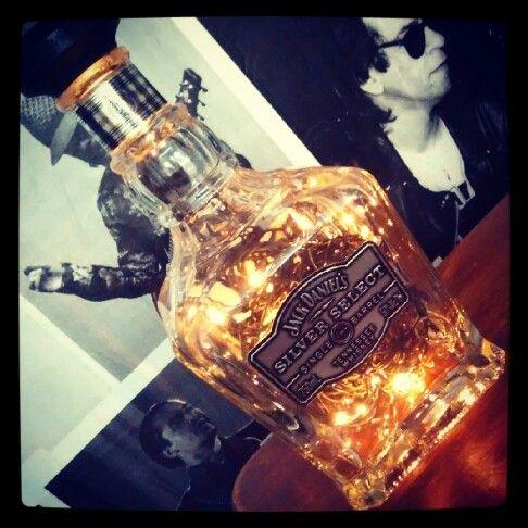 Luminaria Jack Daniels Silver Select