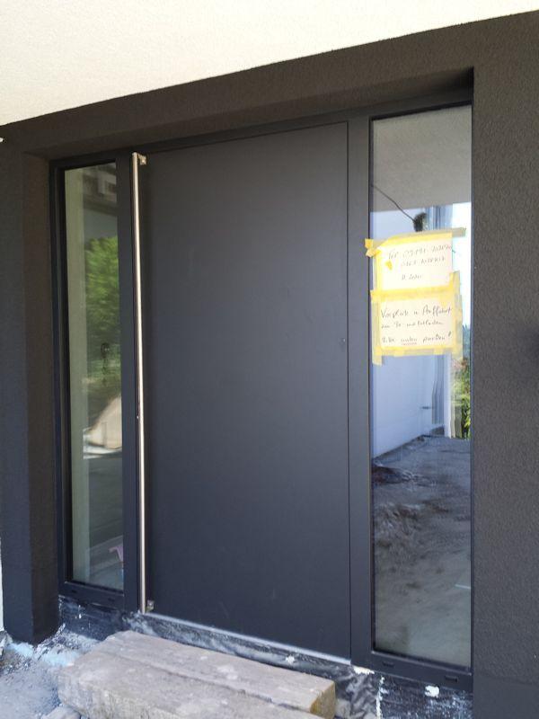 Haustüren modern anthrazit  Die besten 25+ Haustür eingang Ideen auf Pinterest | Haustür ...