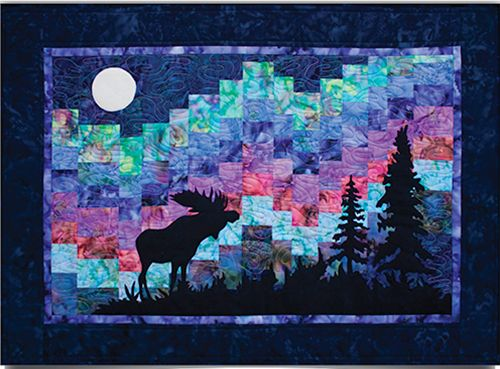 Northern Lights Quilt Pattern 33 5 X 24 5 By Marie Noah
