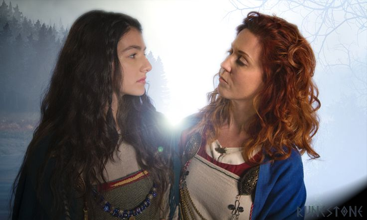 Maegin and Adisa, ladies of the Sea King family.