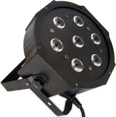 Canhão PAR64 Slim Led 10W RGBW DMX Áudio-rítmico R$ 394.90. 7 LEDs, 3 ou 7 canais DMX, automático, stand alone, strobo, digital, alça dupla, bivolt.  Comprar em http://www.aririu.com.br/canhao-led-par-64-slim-refletor-de-leds-10w-rgbw-dmx-audio_187xJM