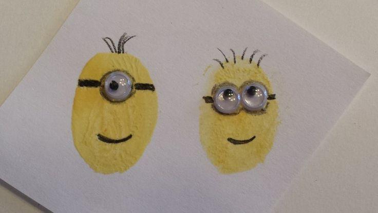 Next Christmas's family fingerprint project... Minions!