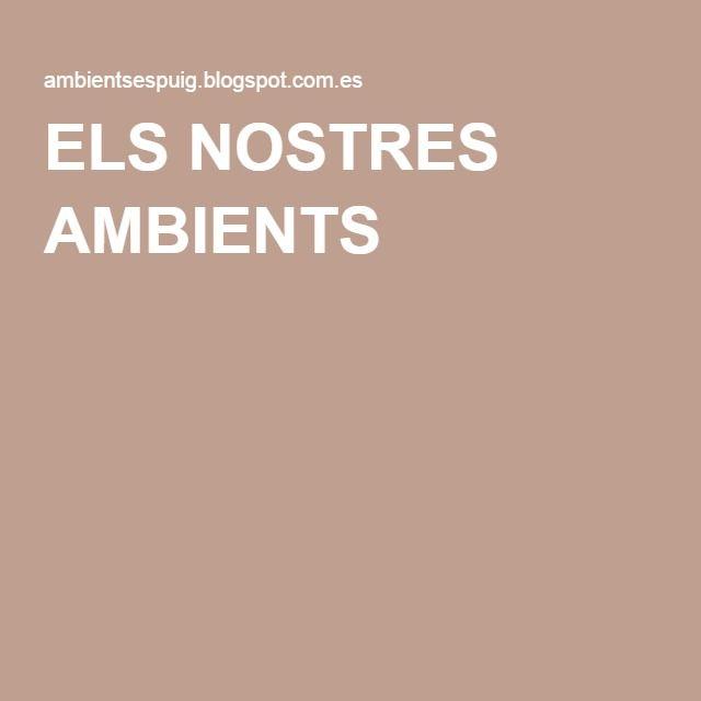 ELS NOSTRES AMBIENTS