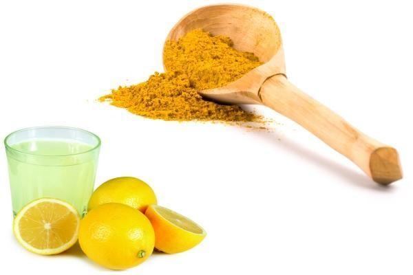 Zerdeçal ve Limon suyu