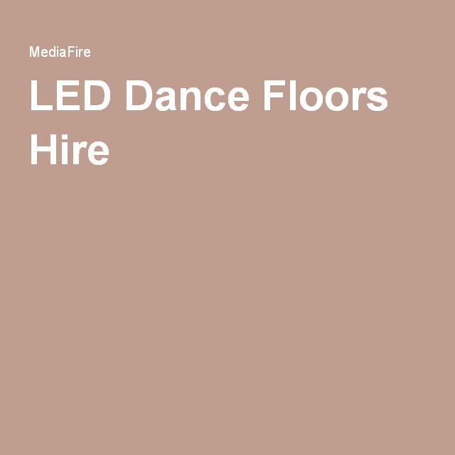 Stunning Led dance Floors Hire In London