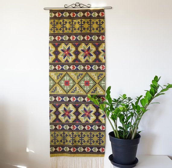 Hey, I found this really awesome Etsy listing at https://www.etsy.com/listing/286476059/scandinavian-antique-handwoven-tapestry