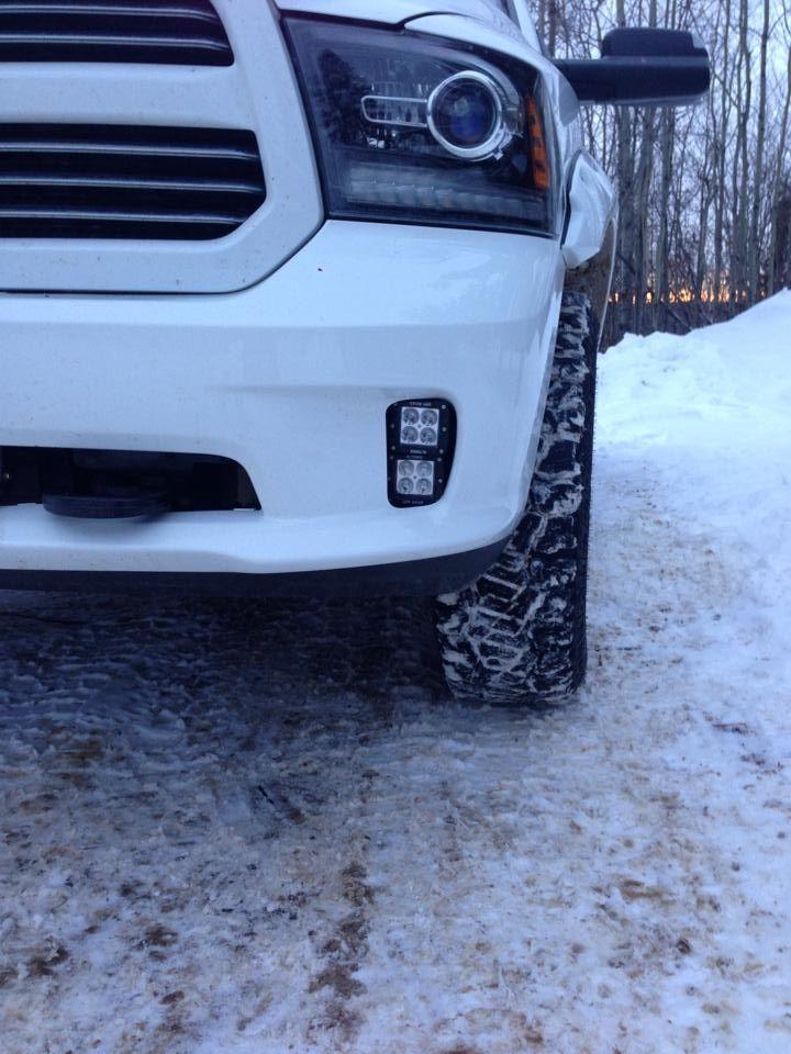 Vertical Fog Light Kit Holds Two Pod In Each Fog Light Opening For Dodge Ram 1500 13 15 4 Total Dodge Ram Dodge Trucks Ram Dodge Ram 1500