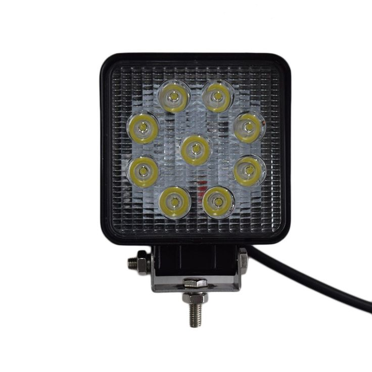 27W LED Work Light for 4X4 For Jeep Truck Boat ATV