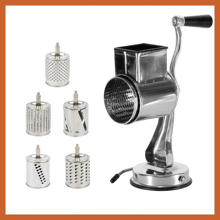 Multi functional kitchen rotary nut grinder cheese grater with drum blade vegetable chopper fruits slicing kitchen chopper tool