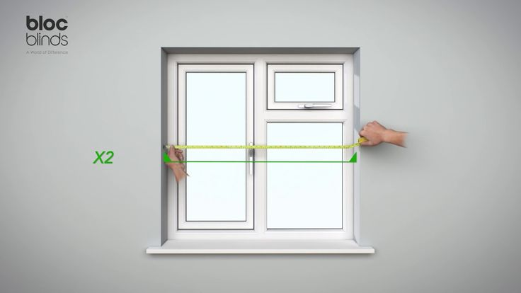 How to measure for the Award Winning BlocOut Blind which is to be fitted...