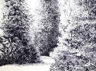 "Saatchi Art Artist Maria Westra; Drawing, ""TREES"" #art  https://www.youtube.com/watch?v=ksLWULWKoM4"