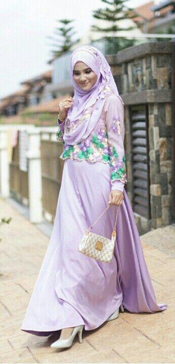 Dress + lace top @Falah Abiyana