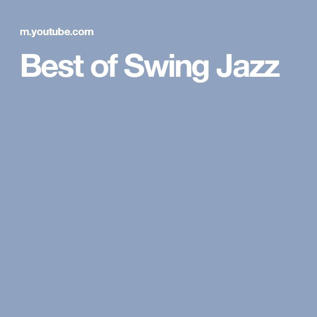Best of Swing Jazz