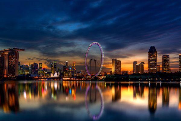 世界最大の観覧車「シンガポール・フライヤー」