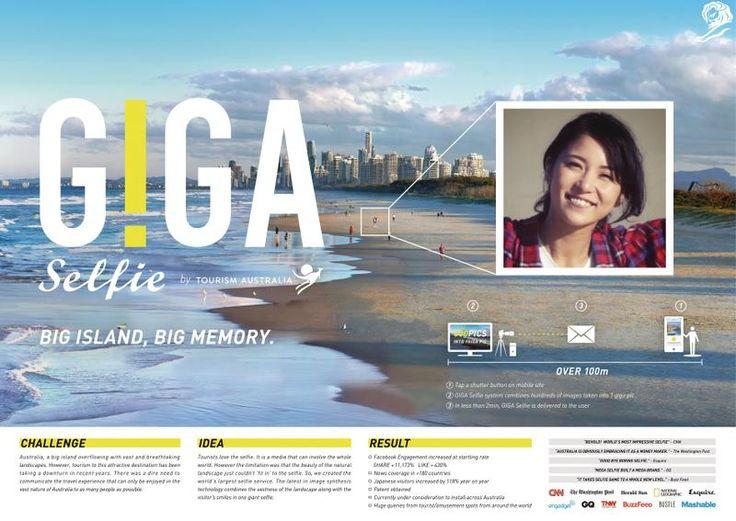 Giga Selfie - Australia Tourism