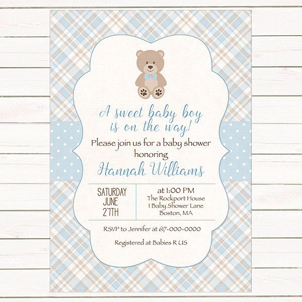 17 Best Ideas About Bear Baby Showers On Pinterest