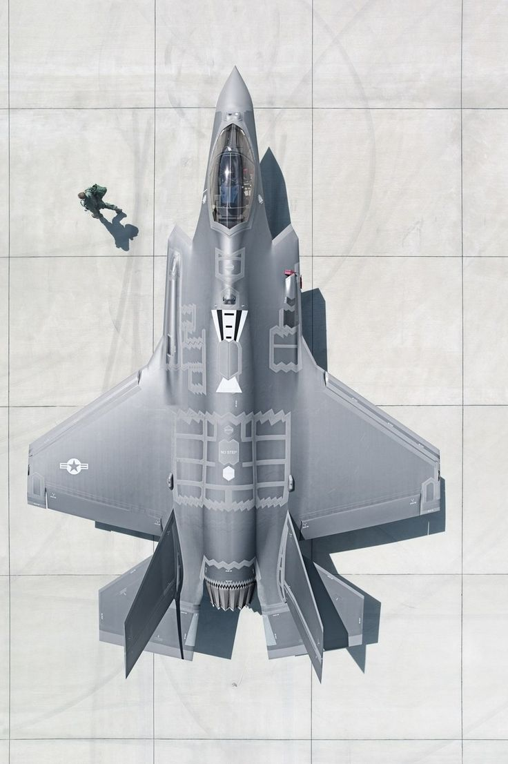Behold, the Lockheed Skunk Works F-35 Lightning II. This fighter is named after the P-38 Lightning from WWII, which is rumored to have also been designed by Lockheed Skunk Works.