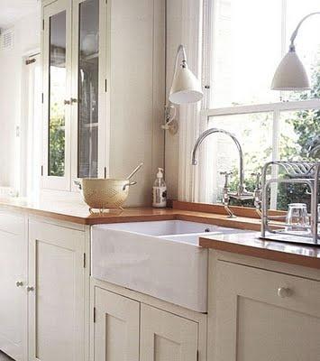 Double butler's sink :)