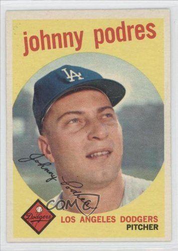 Johnny Podres Los Angeles Dodgers (Baseball Card) 1959 Topps #495 by Topps. $10.00. 1959 Topps #495 - Johnny Podres
