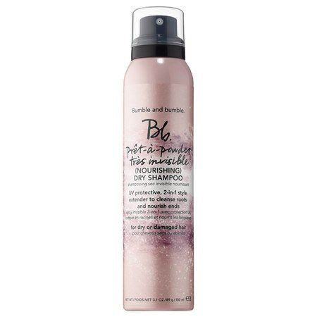 BUMBLE AND BUMBLE Bb. Pret-a-Powder Tres Invisible Nourishing Dry Shampoo with Hibiscus Extract: An invisible, two-in-one style extender to cleanse roots and nourish ends. #Festival