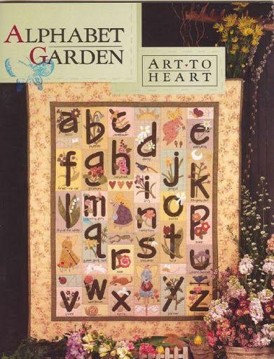 Art to Heart - Alphabet Garden - Petra Budag - Álbuns da web do Picasa