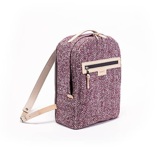 PART / Backpack Tweedy pink