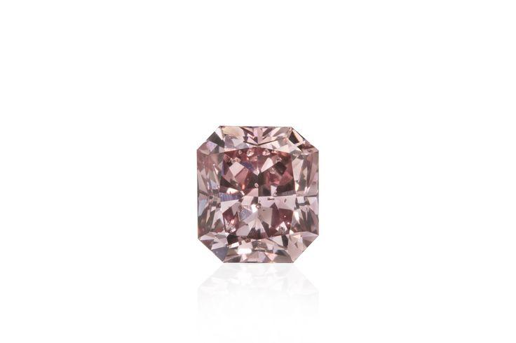 Argyle Pink Rose Radiant Cut Natural Diamond