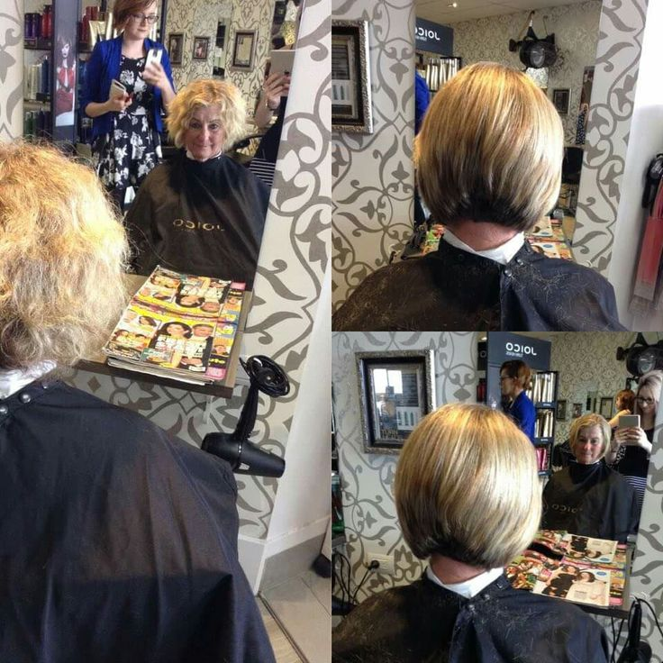 Another big change for our client but shes rocking it!