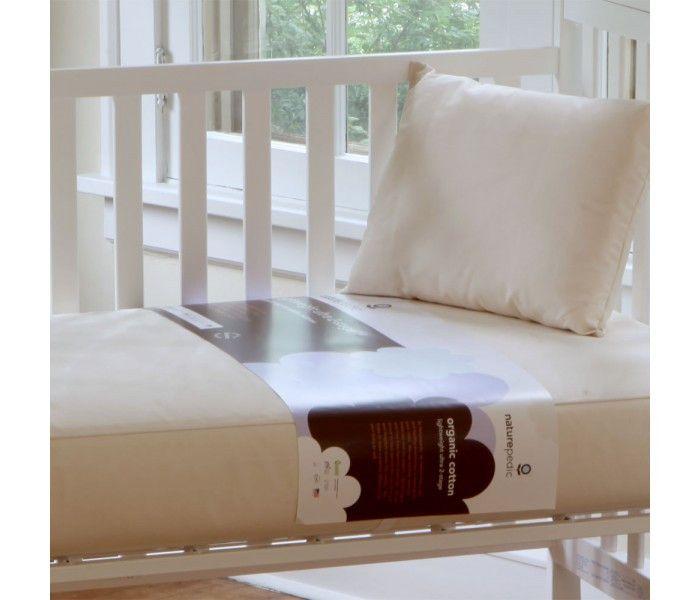 Naturepedic Ultra 2 in 1 Organic Cotton Crib Mattress – Organic Mattress and Sleep Canada
