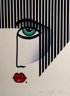 rostro ilustración Art Deco graphic                                                                                                                                                                                 Más