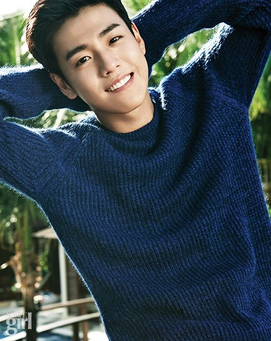 Lee Hyun Woo - Vogue Girl Magazine January Issue '15