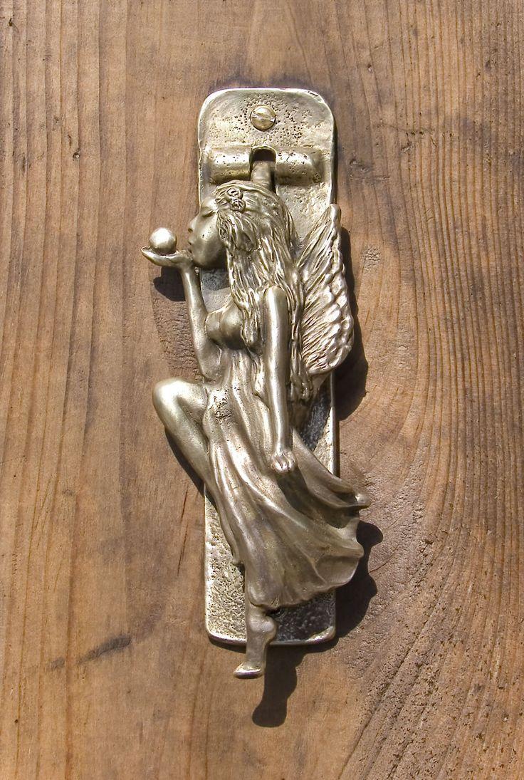 Fairy Door Knocker & 71 best Door Accessories images on Pinterest | Door knockers Door ... Pezcame.Com