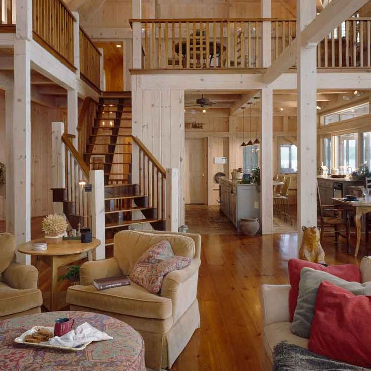 open staircase with wood treads and risers   Open Stringer with Balance