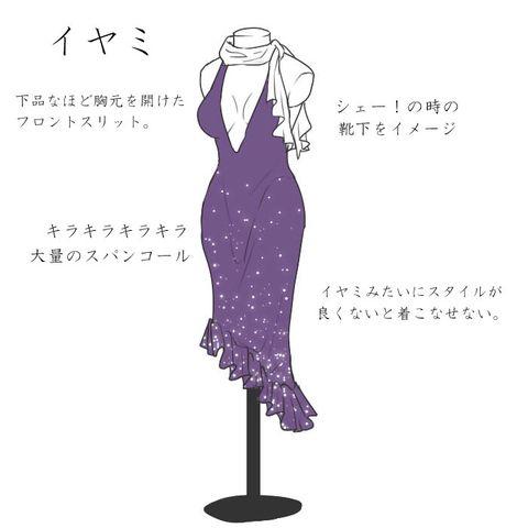 「おそ松さんドレス!」/「さかなッティ」の漫画 [pixiv]