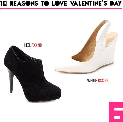 Reason 6: Heel yea!  Shop the hottest ladies heels in-store and online now at www.mrp.com