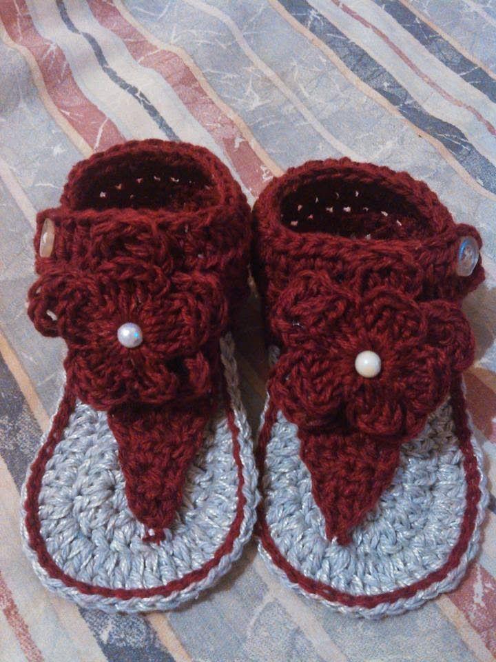 Hobilendik Örgüden Bebek Sandaleti Yapımı