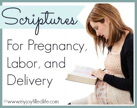 Scriptures for pregnancy, labor delivery {Preparing For Baby} - My Joy-Filled Life