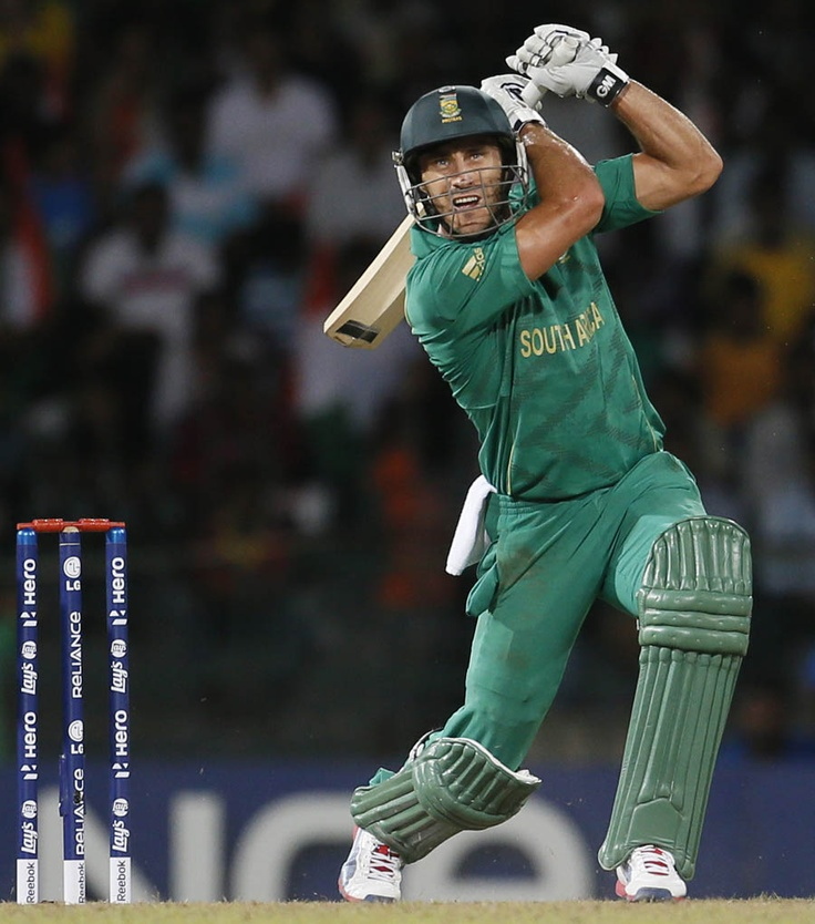 Faf du Plessis (65 on 38) vs India, Super Eights, World Twenty20, Colombo, October 2, 2012