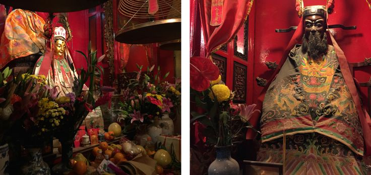 Probably one of the oldest, Man Mo Temple in Hollywood Road is also one of the most famous in Hong Kong.