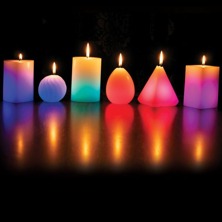Glo Wax-Colour Changing Candle-Glow Wax Candle-Colour Changing Dreaming LED Magic Candle-Magic Candle-Home-Decor-Decoration-Candle-LED Candles-LED-Heart-Screwball-Egg-Round Pillar-Pyramid-Square Pillar