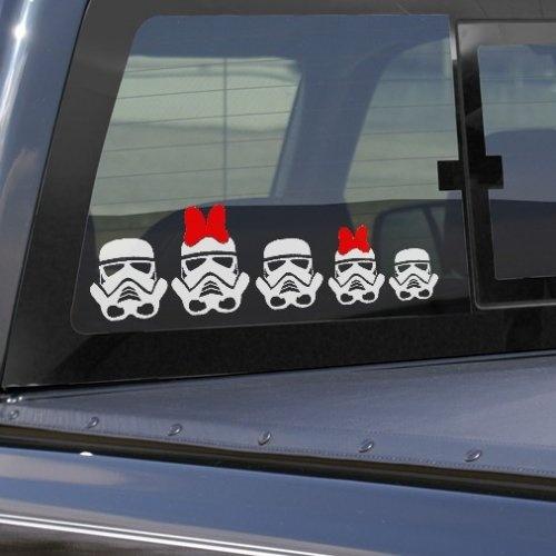 Best Car Stuff Images On Pinterest Car Stuff Geek Stuff And - Star wars family car decals