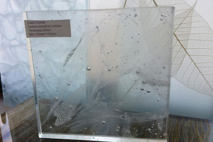 recycled kilnformed laminated glass