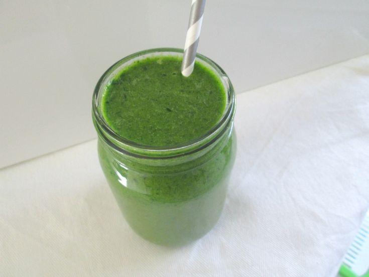 Groene smoothie die echt lekker is!