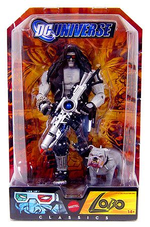 DC Universe Classics 2008 SDCC San Diego Comic Con Exclusive Action Figure Lobo with Dawg