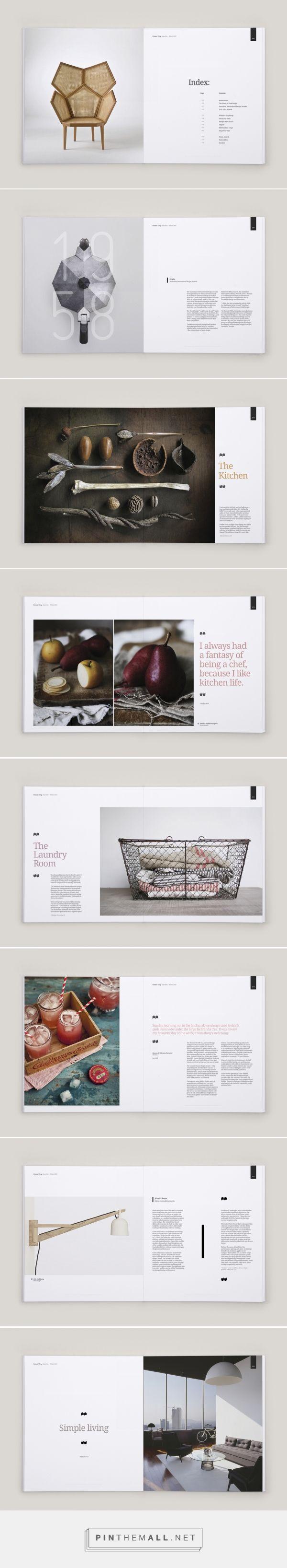 brochure, magazine, layout design.