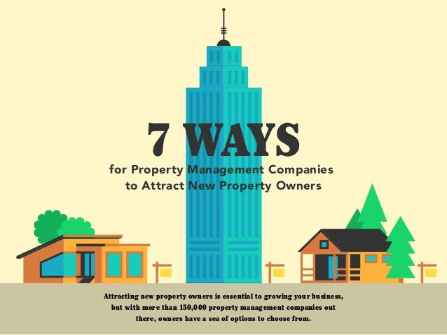 7 Ways Property Management Companies Can Attract New Property Owners by AppFolio via slideshare