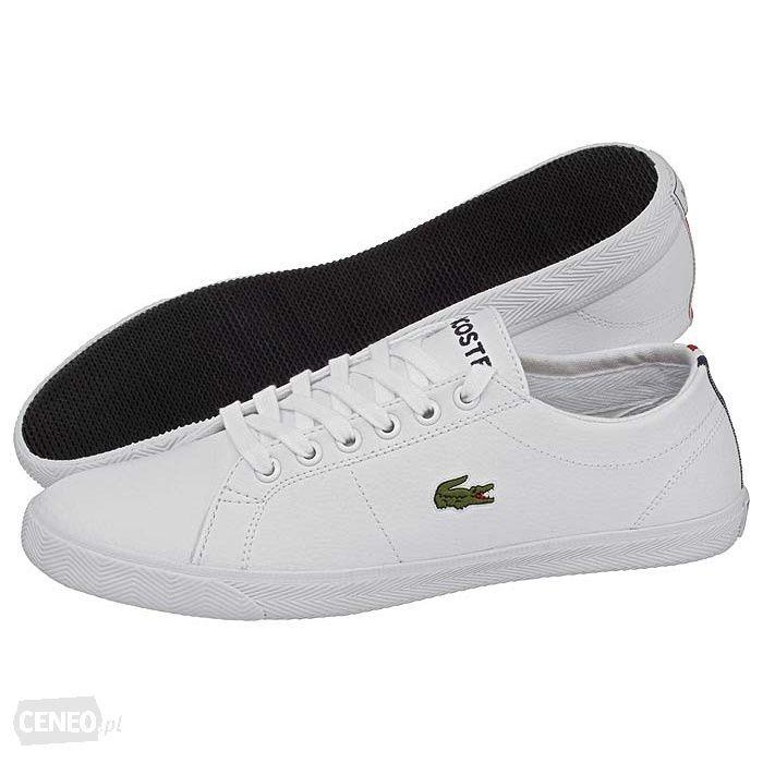 Lacoste Buty Marcel L Fra Lc128 B Bialy Zdjecie 1 White Sneaker Sneakers Superga Sneaker