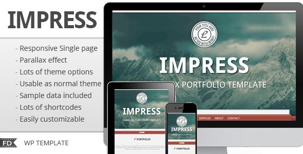 Impress - Responsive parallax single page theme :  Check out this great #themeforest item 'Impress - Responsive parallax single page theme' http://themeforest.net/item/impress-responsive-parallax-single-page-theme/3471527?ref=25EGY