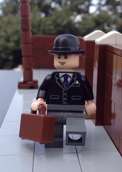Lego Ministry of silly walks (by GothamScene)