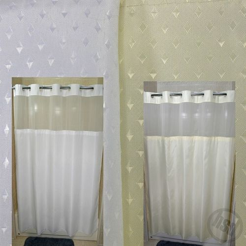 See Through Curtains 23 best shower rails and curtains images on pinterest | bathroom